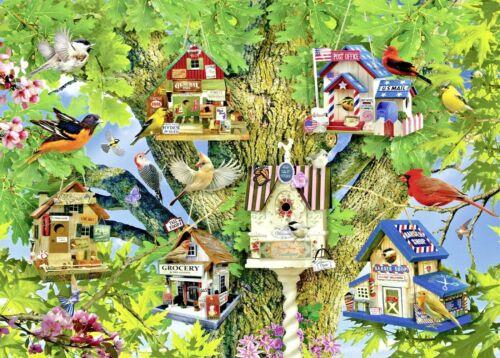Ravensburger Premium 1000 Piece Jigsaw Puzzle Bird Village General Store Grocery