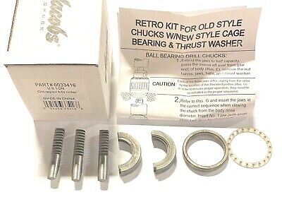 Jacobs 8-12n Replacement Part Chuck Service Kit 33416
