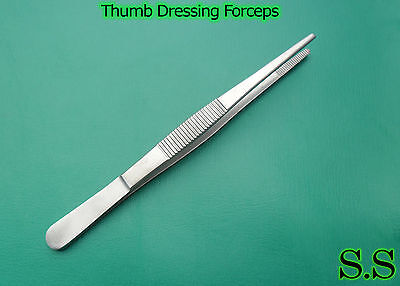 1 Piece Of Thumb Dressing Forceps 5 Serrated Teeth Surgical Instruments