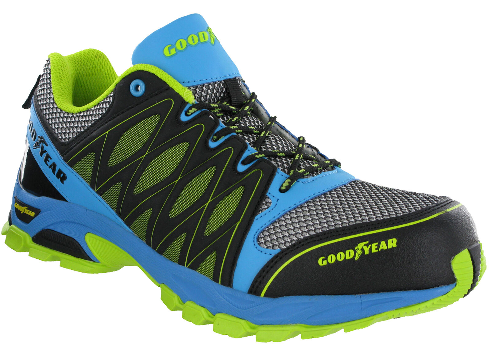 Goodyear Metal Free Composite Toe Safety Trainers S1P Lightweight Lace Mens 1503