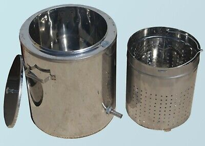 Steam Wax Melter 17 L 4.5 Gal Honey Processing Machine Beeswax Extractor