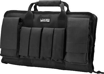 Barska Loaded Gear RX-50 16in Dual Pistol Case-Black