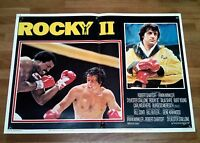 Rocky 2 Fotobusta Poster Sylvester Stallone Shire Weathers Balboa Creed Al2 -  - ebay.it