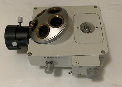1.25x Leitz Ploemopak 2.1 Fluorescence Illuminator For Ortholux Ii Microscope