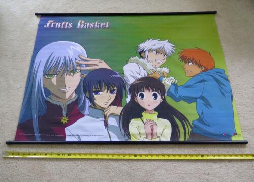 Fruits Basket 42 X 31 Inch 2001 Natsuki Takaya Promo Banner FUNimation Anime EUC