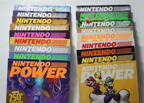 Nintendo Power Magazines Collectible 2009 2010 2011 2012 Subscription Edition