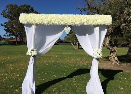 Floral Wedding Arbour Arch For Hire