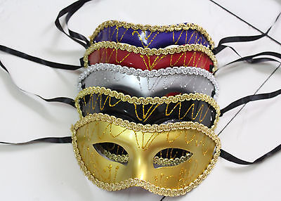 Venetian Costumes And Masks (Wholesale Unisex Costume Venetian Party Mask Masquerade Masks MIx And)