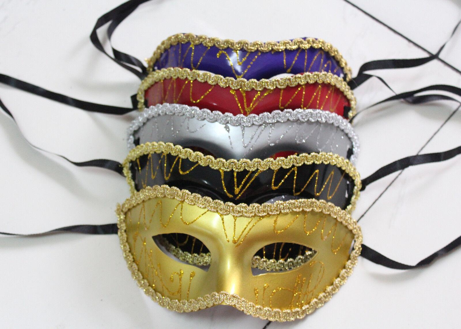 Wholesale Unisex Costume Venetian Party Mask Masquerade