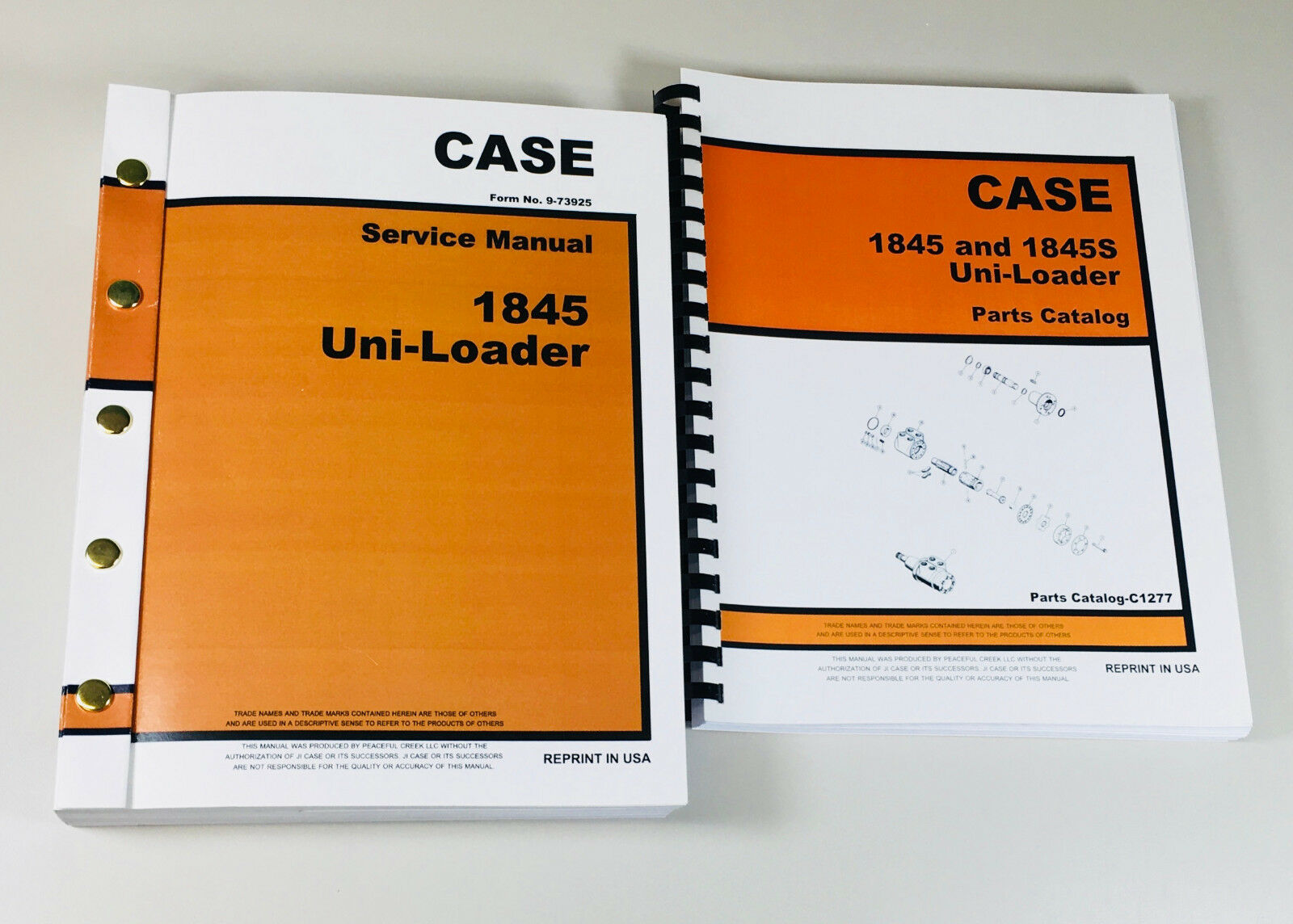 Fully Covers 1845 Uni-Loader Skid Steer All years & serials. Complete  Service/Overhaul/Parts Manuals. This comprehensive set of manuals include