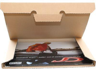 50 St. Deluxe LP Versandkartons für 1-3 Vinyl LP's 325x325x12 mm stark