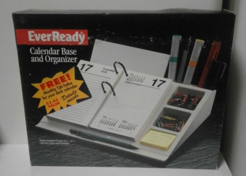 Vintage EverReady Calendar Base & Organizer J17-00 - New