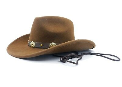 Western Felt Cowboy Shapeable Hat Men's/Woman's Unisex 100% Wool - Cheap Cowboy Hats For Men