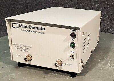 Mini-circuits Rf Power Amplifier Tia-1000-1r8-bnc