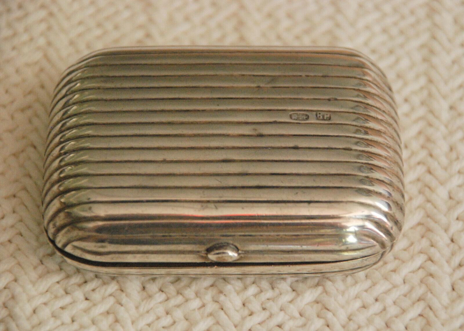 Antique Tsarist Russian Snuff Box Case Imperial Russia Hallmarked 84 BP 1800 s - $174.99