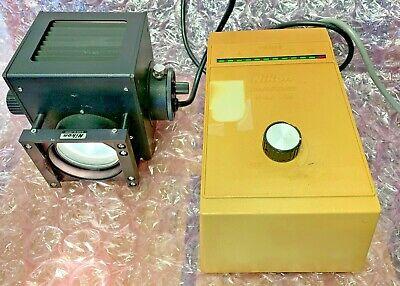 Nikon Model Un Variable Output Voltage Transformer Illuminator Assembly