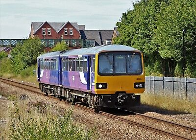 144004 Arriva Rail North 6x4 Quality Rail Photo