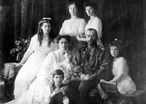 The Romanov Family-Last Royal Family of Russia-Czar Nicholas II-Photo