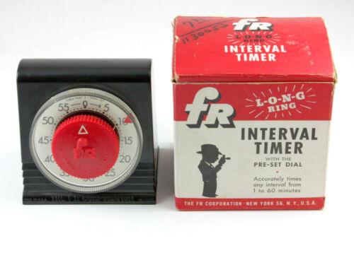 U198907 FR Long-Ring Mechanical Darkroom Interval Timer 1 to 60 Minutes - Works