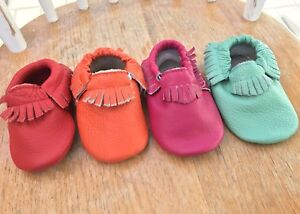 New Baby moccasins - Leather baby moccasin - Baby moccs