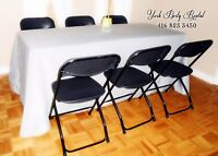 CHEAP PARTY RENTAL! Tables, Chairs, Chafing Dish FOR Rent! Sarah