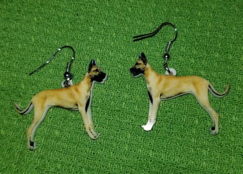 Great Dane Dog lightweight fun earrings  jewelry FREE SHIPPING! mydogsocks