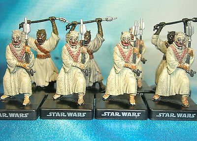 Star Wars Miniatures Lot  Tusken Raider Alliance and Empire !!  s97