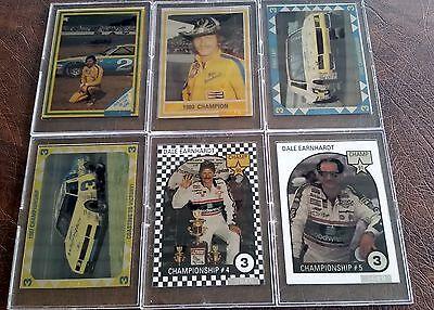 Nascar Dale Earnhardt Number (Dale Earnhardt Sr 6-Card Numbered Metal Set 1993 byNascar Card Dynamics )