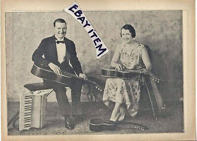 1930s Dallas Texas FLYER guitar ACCORDION Harry Byrd KLINE DUO Sorensen ADA OHIO