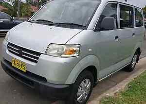 2007 Suzuki APV Van Minivan SILVER TOW BAR 4NEW TYRES CHEAP FUEL Illawong Sutherland Area Preview