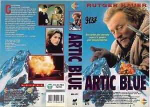 ARTIC BLUE (1993) vhs ex noleggio - Italia - L'oggetto può essere restituito - Italia