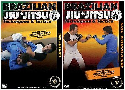 Brazilian Jiu Jitsu 2 DVD Set for $15- Brand New & Free Shipping
