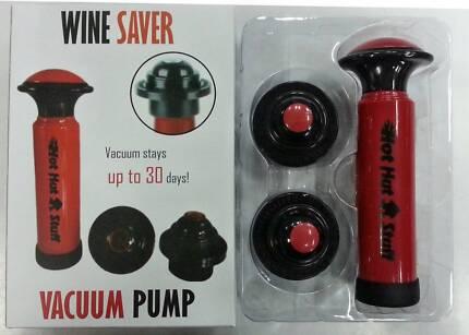 Wine Saver Vacuum Pumps Including Express Post
