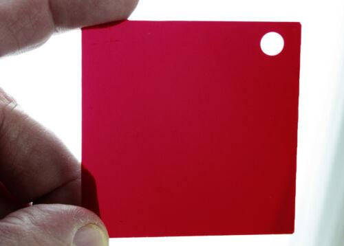 """U198950 Red Paper-Safe Filter for Enlarger 2-3/8 x 2-3/8"""""""