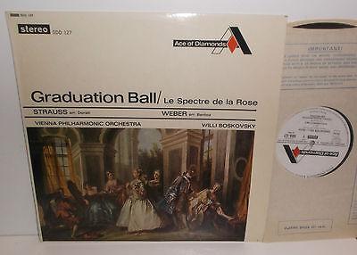 SDD 127 J Strauss Graduation Ball Weber Le Spectre De La Rose VPO Boskovsky Grvd