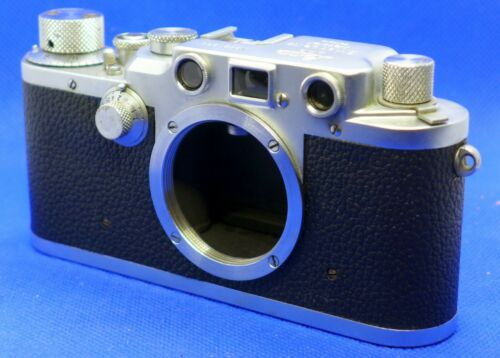 Leica IIIC (Sync upgraded) Rangefinder Leitz Vintage Camera Body
