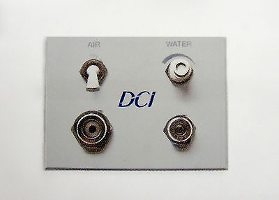 Dci Dental Air Water Gray Auxiliary Wall Switch Quick Disconnect Q.d. Panel
