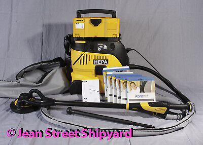 Mirka Leros Dust Free Wall Ceiling Drywall Vacuum Sander 1230-pc Hepa Vac Kit