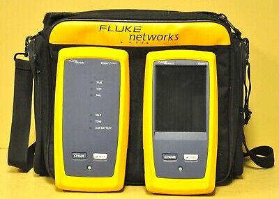 Fluke Networks Dsx-5000 Versiv 2 Cat6a Lan Cable Certifier Tester Dsx 5000 Cu