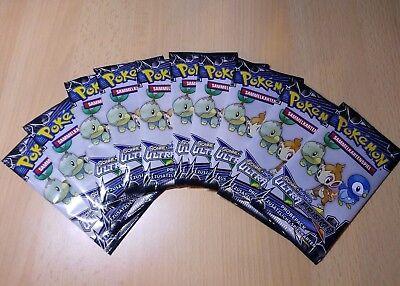 10x Pokemon Booster Sonne und Mond Ultra Prisma Booster deutsch Neu und OVP!!