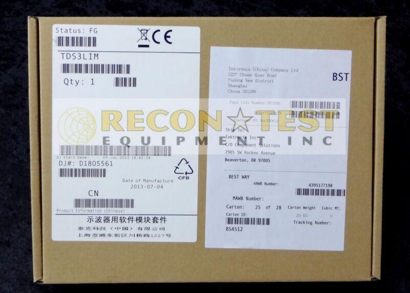 Tektronix TDS3LIM Limit Test Module * New In Box*