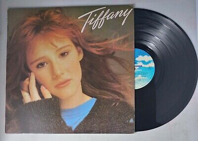 Tiffany Self-titled Korea Presesing Vinyl Lp Record