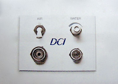 Dci Dental Air Water White Auxiliary Wall Switch Quick Disconnect Q.d. Panel
