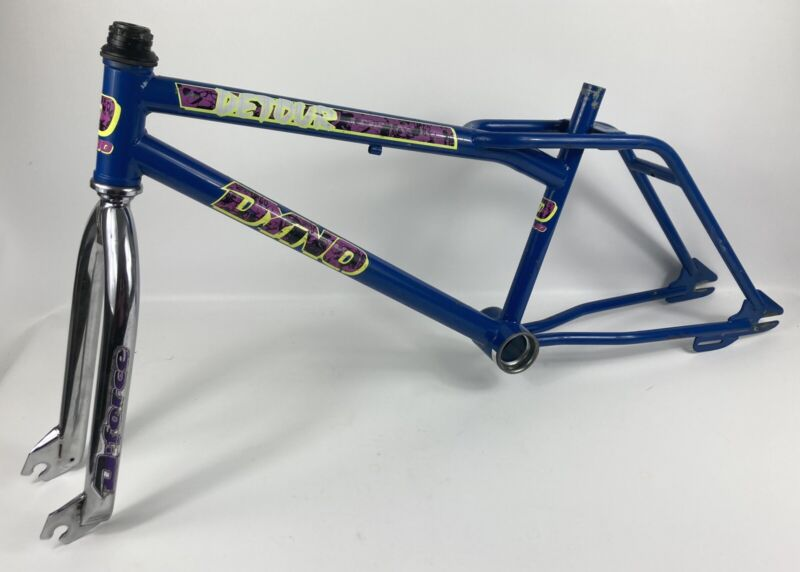 Dyno Detour Chrome Bmx Freestyle Frame Pro Compe GT Haro 1989