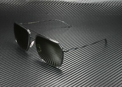 Dolce & Gabbana DG2165 110671 BLACK MATTE BLK GREY GREEN 58 mm Men's (Dolce Gabbana Sunglasses For Men)