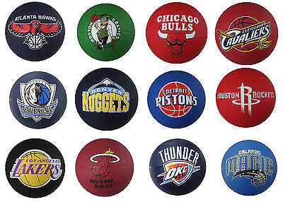 Spalding Nba Mini Primary Team Outdoor Rubber Basketball  28 Styles