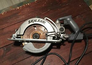 "SKILSAW 7-1/4"" WORM DRIVE  MADE IN USA"