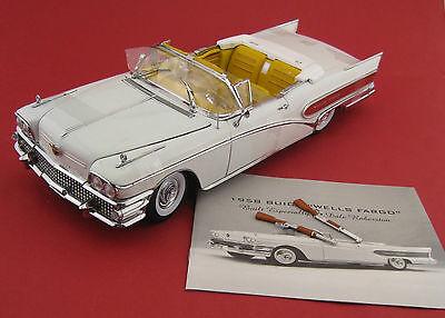 Buick Limited Wells Fargo 1958  Sun Star PLATINUM   Maßstab 1:18  OVP  NEU