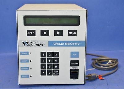 1 Used Unitek Equipment 3-129-02 Weld Sentry Welder Controller 15500
