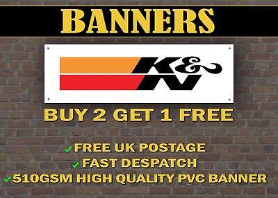 LARGE 2 METRE K&N Banner for Garage / Shop Display OIL Garage